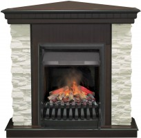 3D комплект Real Flame Elford Corner с очагом 3D Oregan