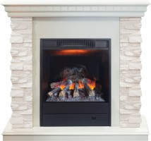 3D комплект Real Flame Elford WT с очагом 3D Eugene