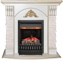 3D комплект Real Flame Athena с очагом 3D Oregan