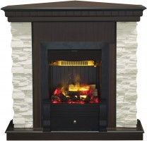 3D комплект Real Flame Elford Corner с очагом 3D Volcano
