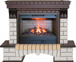 3D комплект Real Flame Country 26 AO с очагом 3D Helios 26