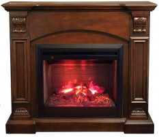 3D комплект Real Flame Ceasar AO с очагом 3D Helios