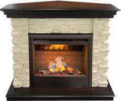 3D комплект Real Flame Elford Corner с очагом 3D Helios