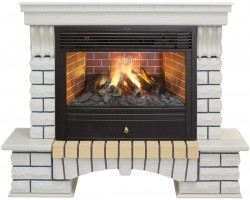 3D комплект Real Flame Country 26 WT с очагом 3D Novara 26