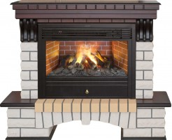 3D комплект Real Flame Country 26 AO с очагом 3D Novara 26